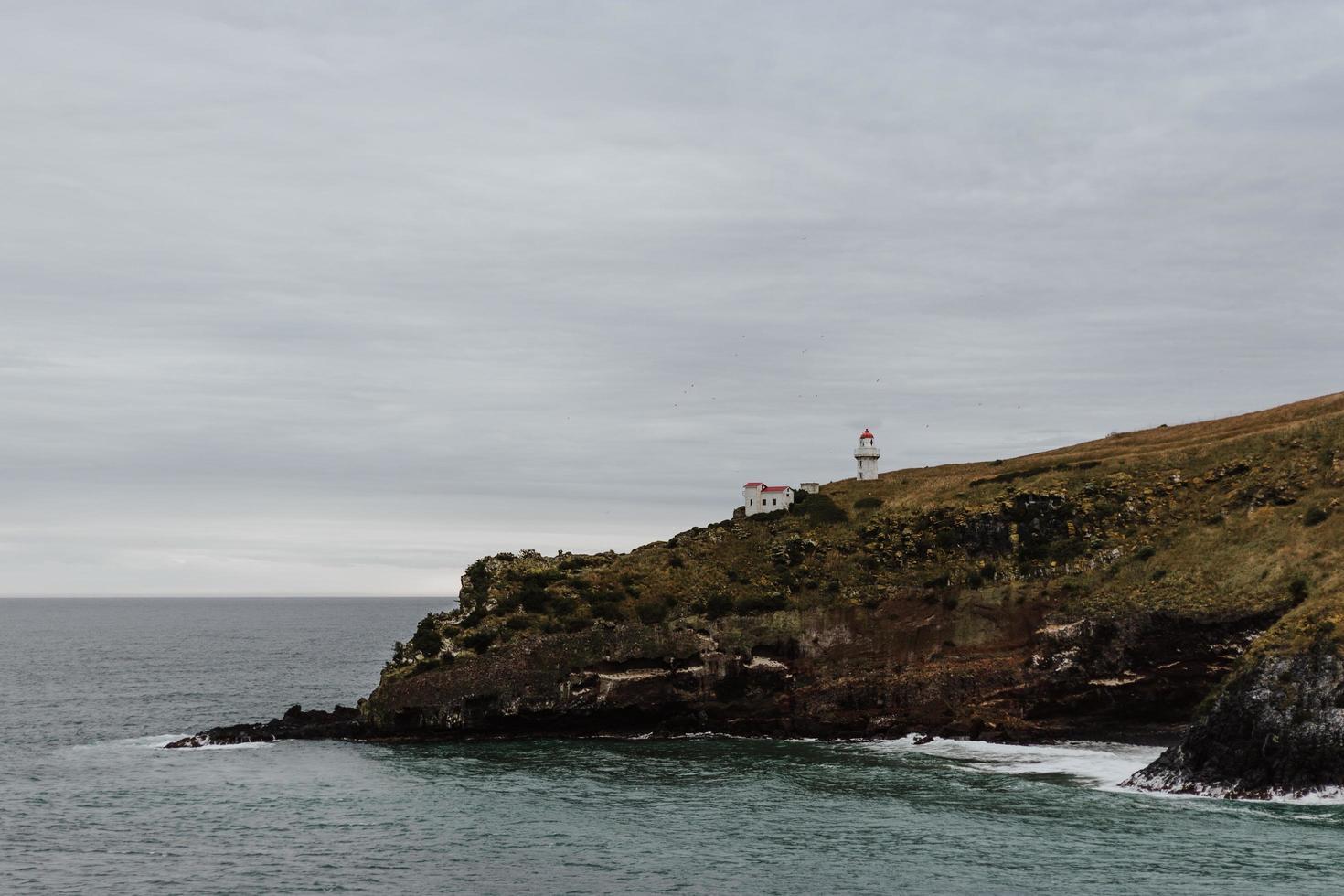 felsige Klippe Seelandschaft foto