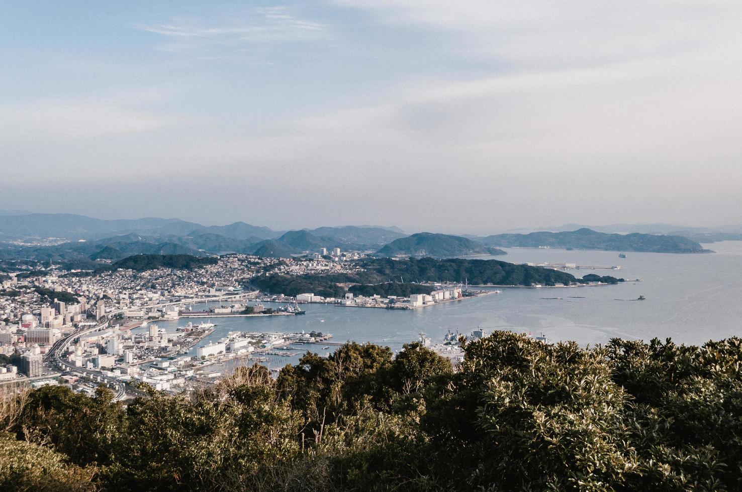 Luftaufnahme der Stadt tagsüber foto