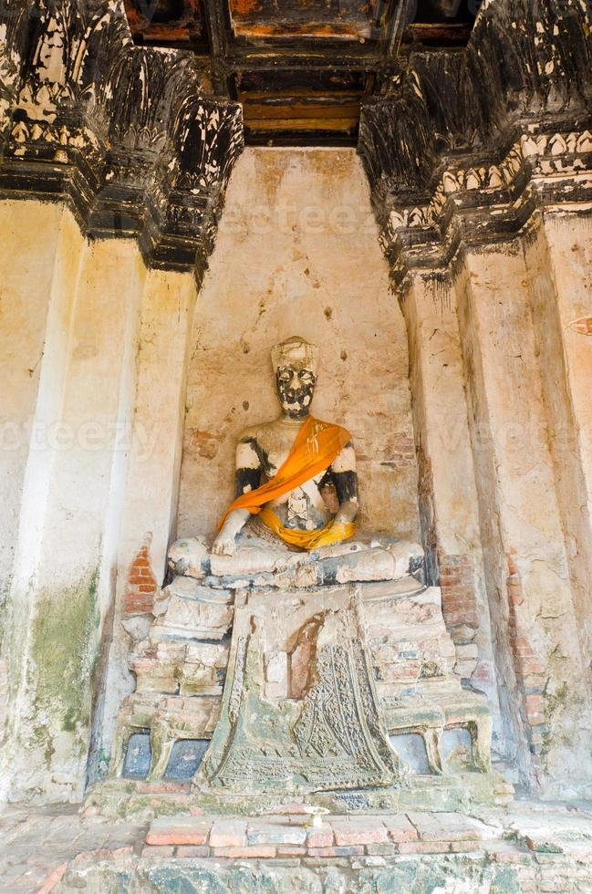 Bild Buddha in Ayutthaya Thailand foto
