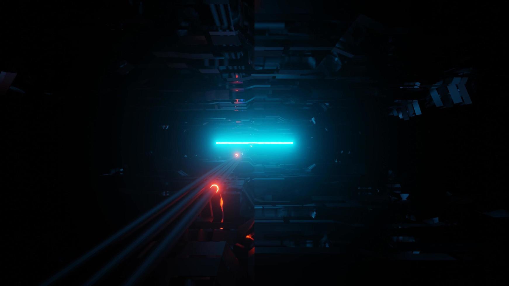 futuristischer Science-Fiction-Hintergrund foto