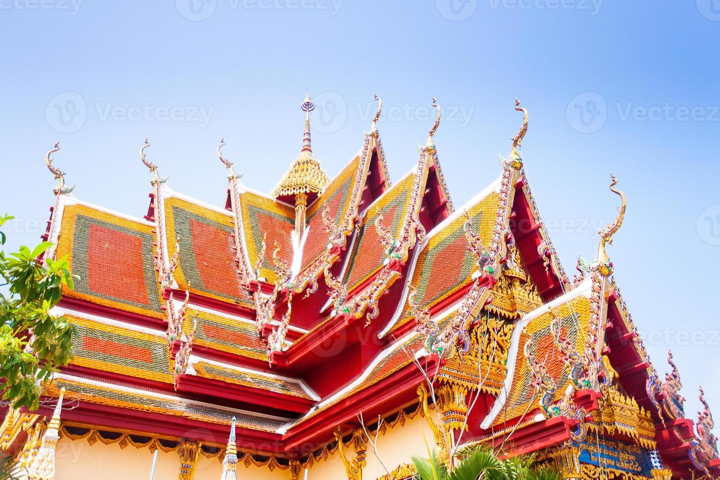 buddhistischer Tempel in Koh Samui, Thailand. foto