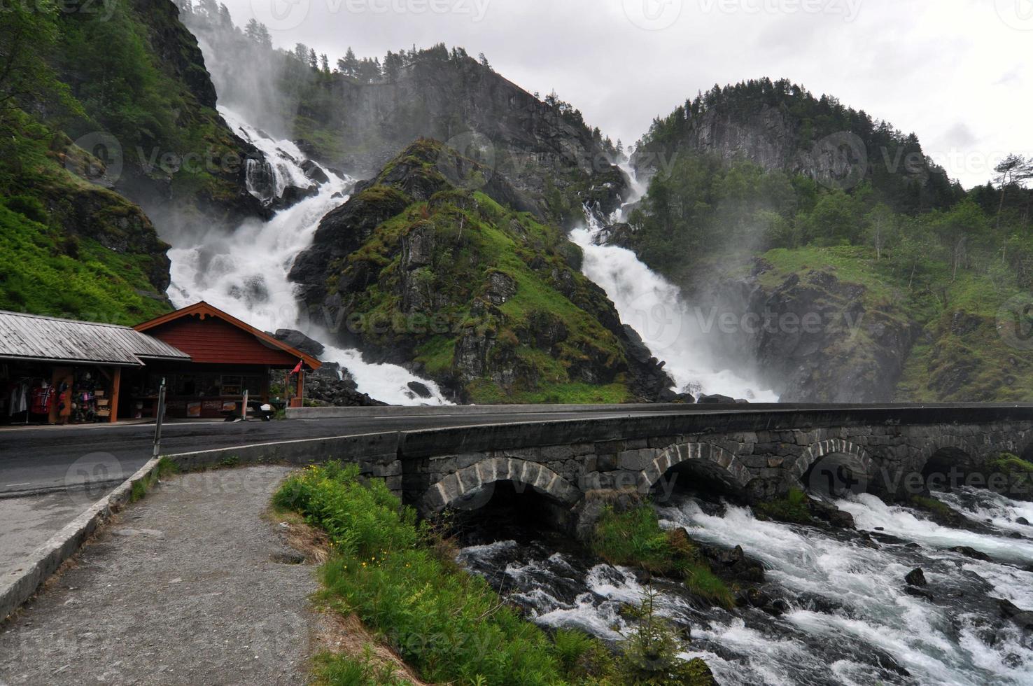 Norwegen. norwegische Natur foto