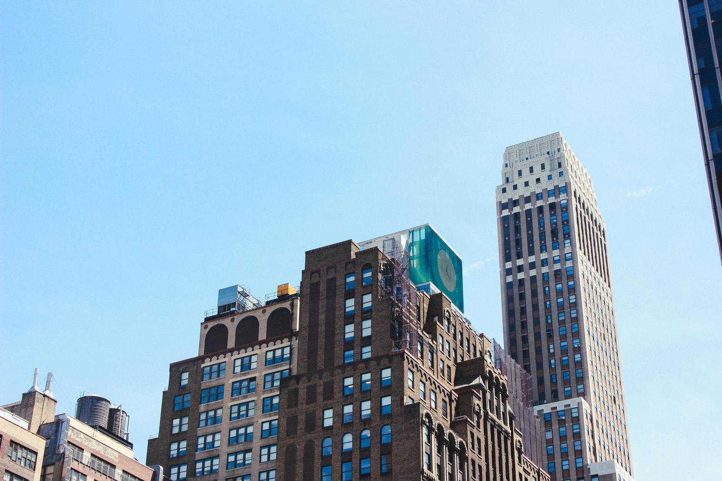 New York City, 2020 - Hochhäuser in New York foto