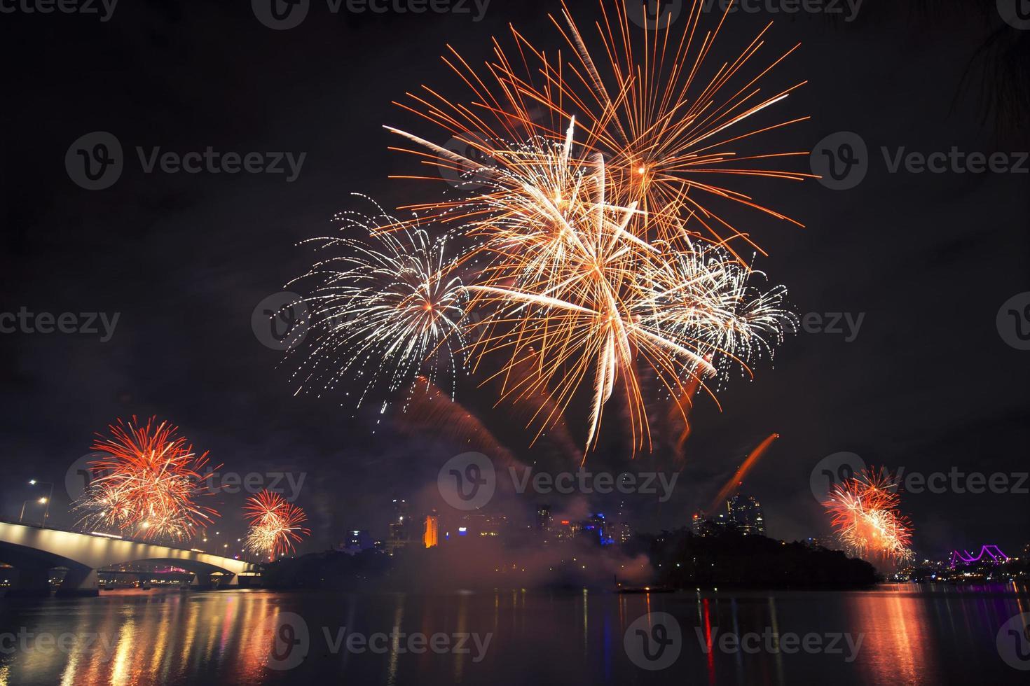 Flussfeuerfest in Brisbane - 2014 foto