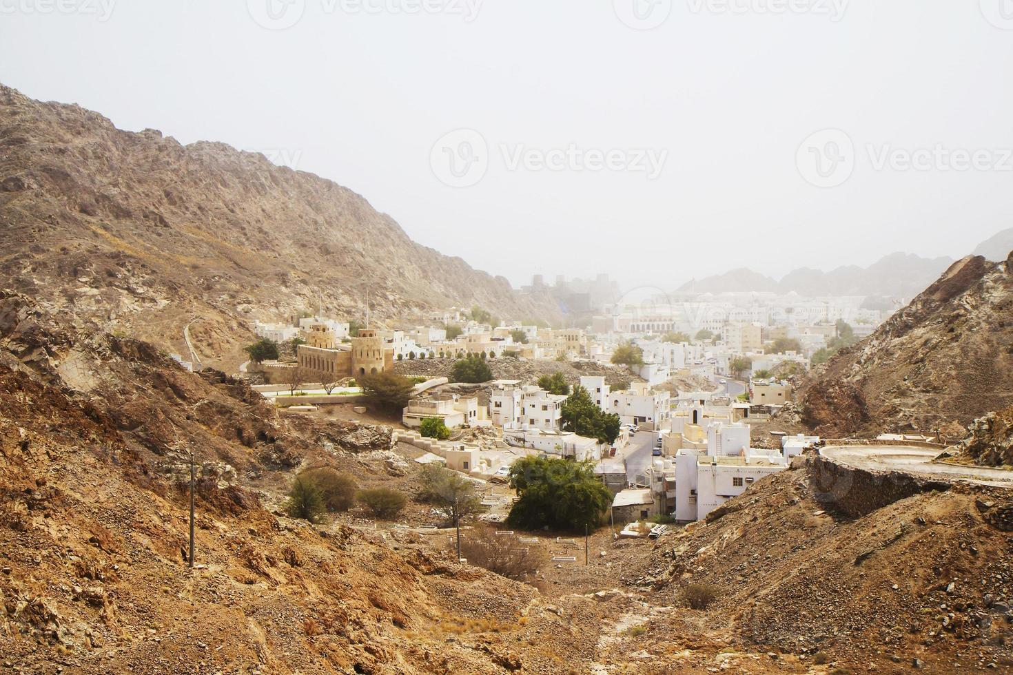 Oman. Muskateller. die alte Stadt. foto