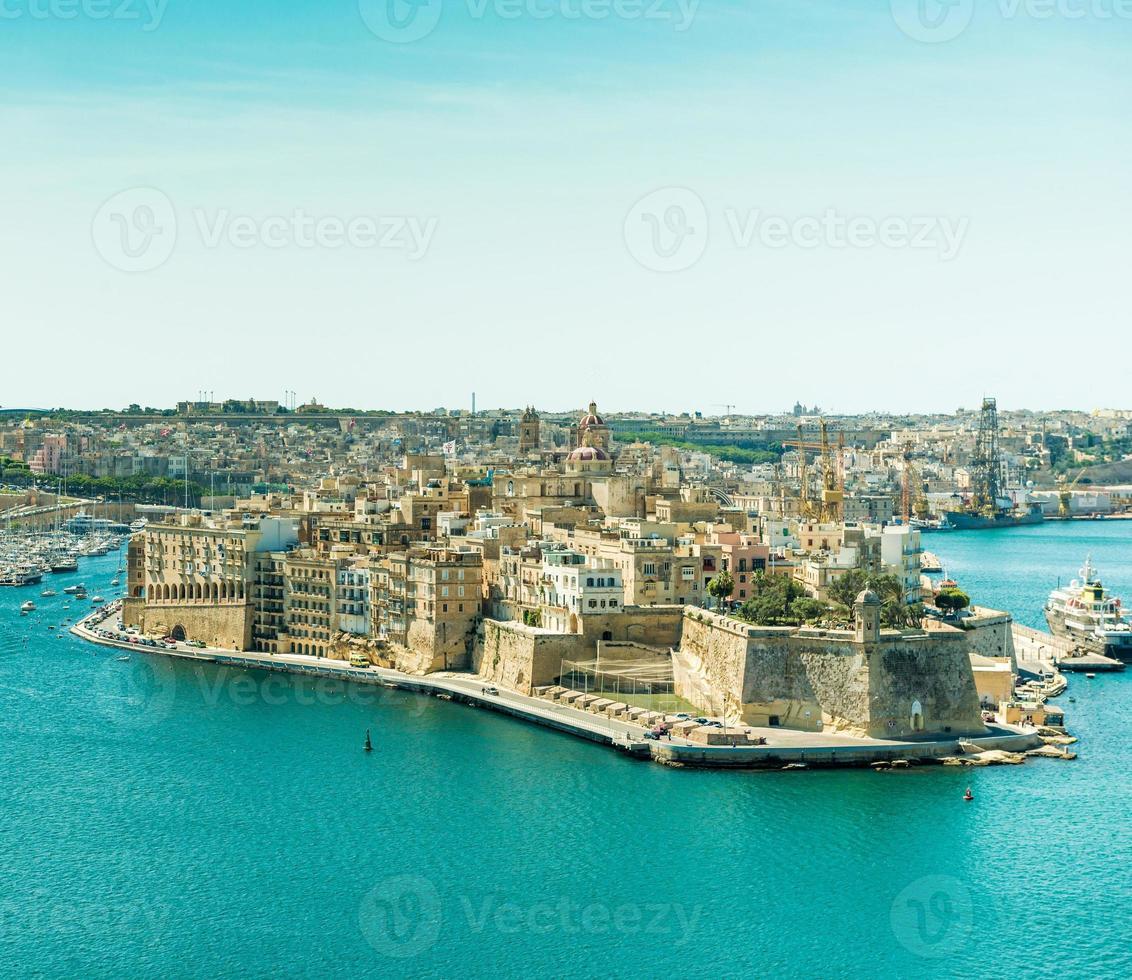 Panoramablick auf Valletta foto
