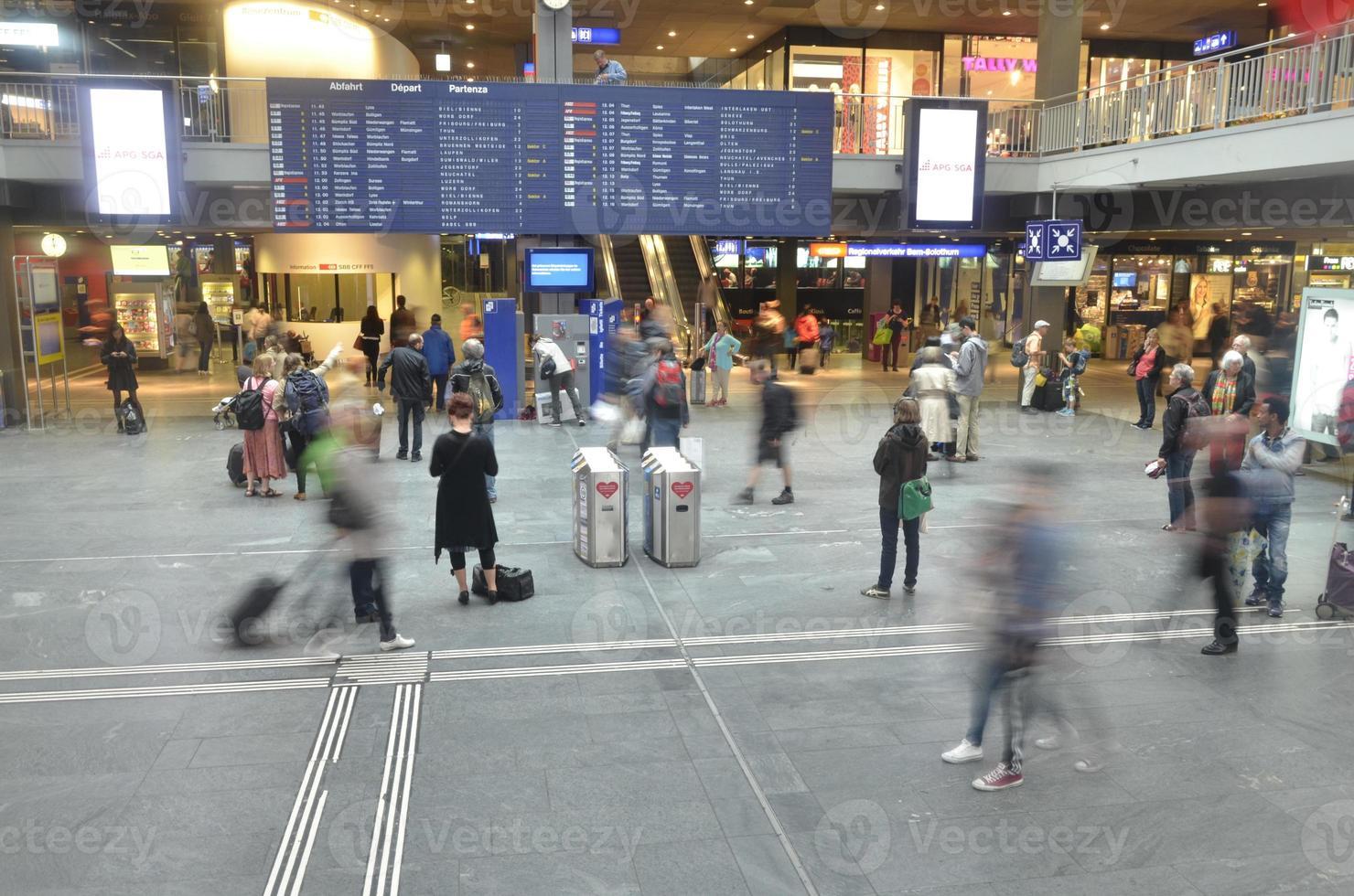 Bahnhof in Bern foto