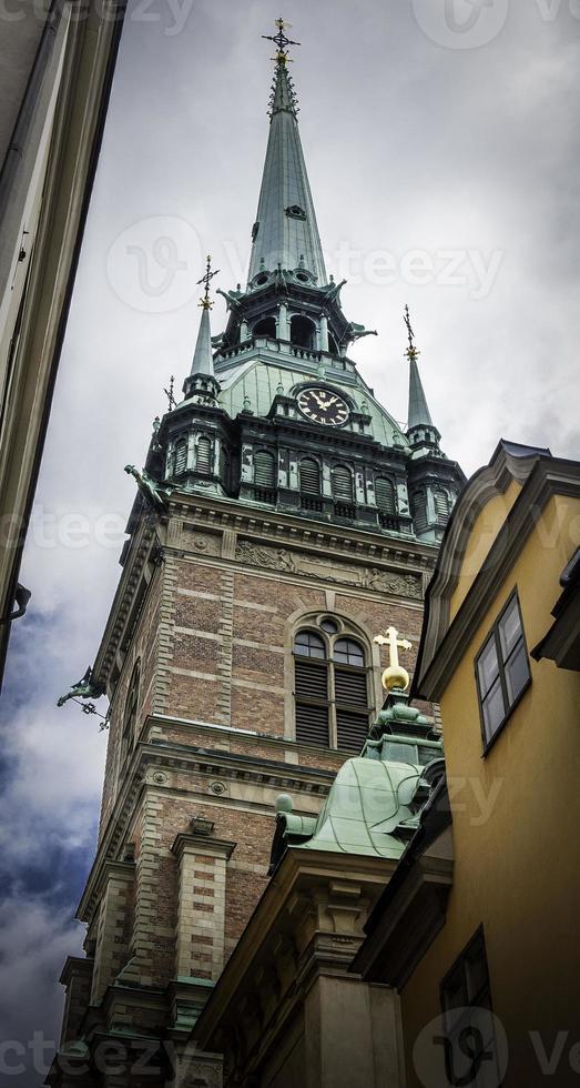 deutsche kirche, stockholm, schweden foto
