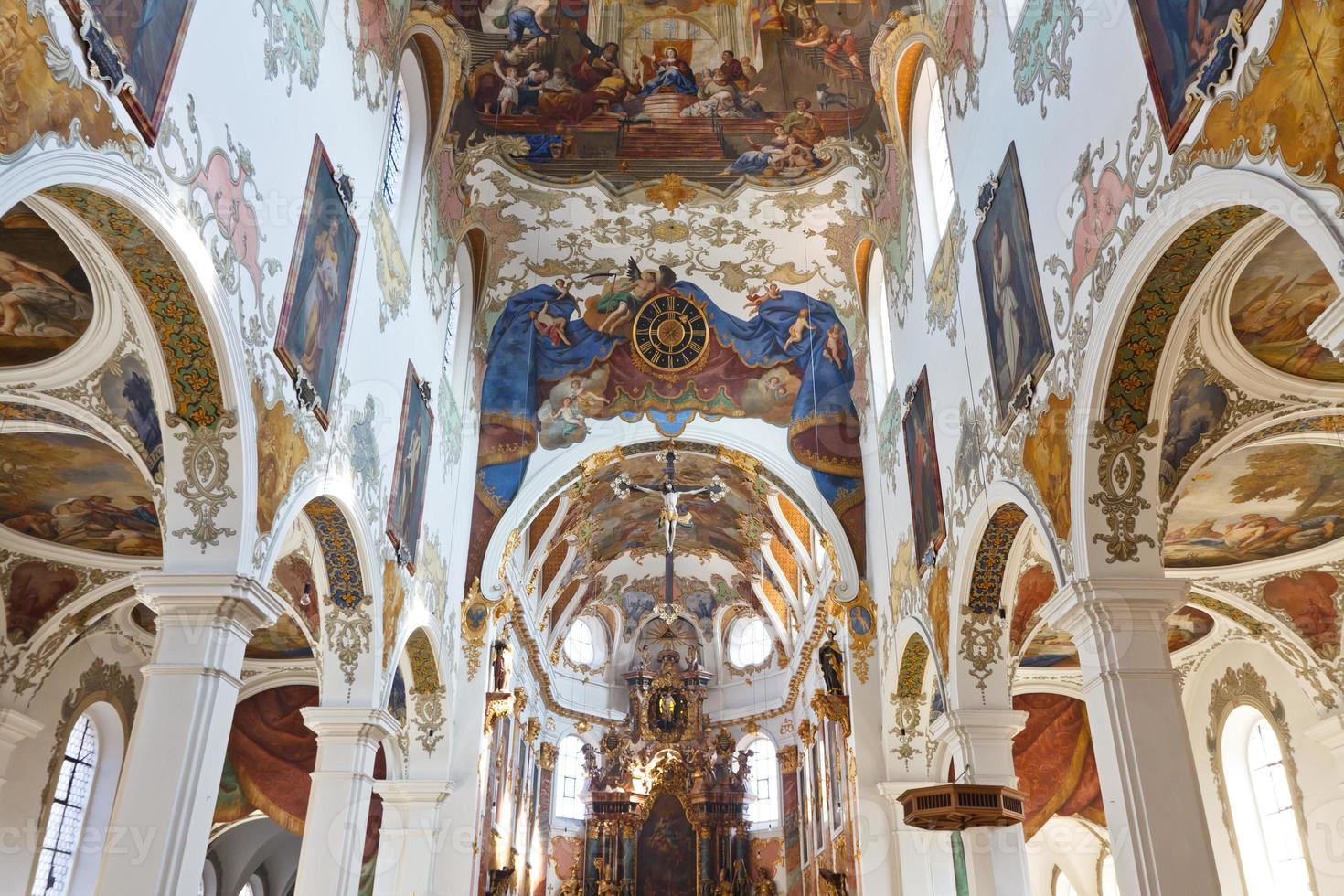 Barockkirche in Biberach, Deutschland foto