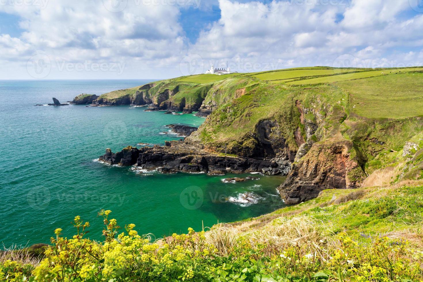 Housel Bay Cornwall England foto