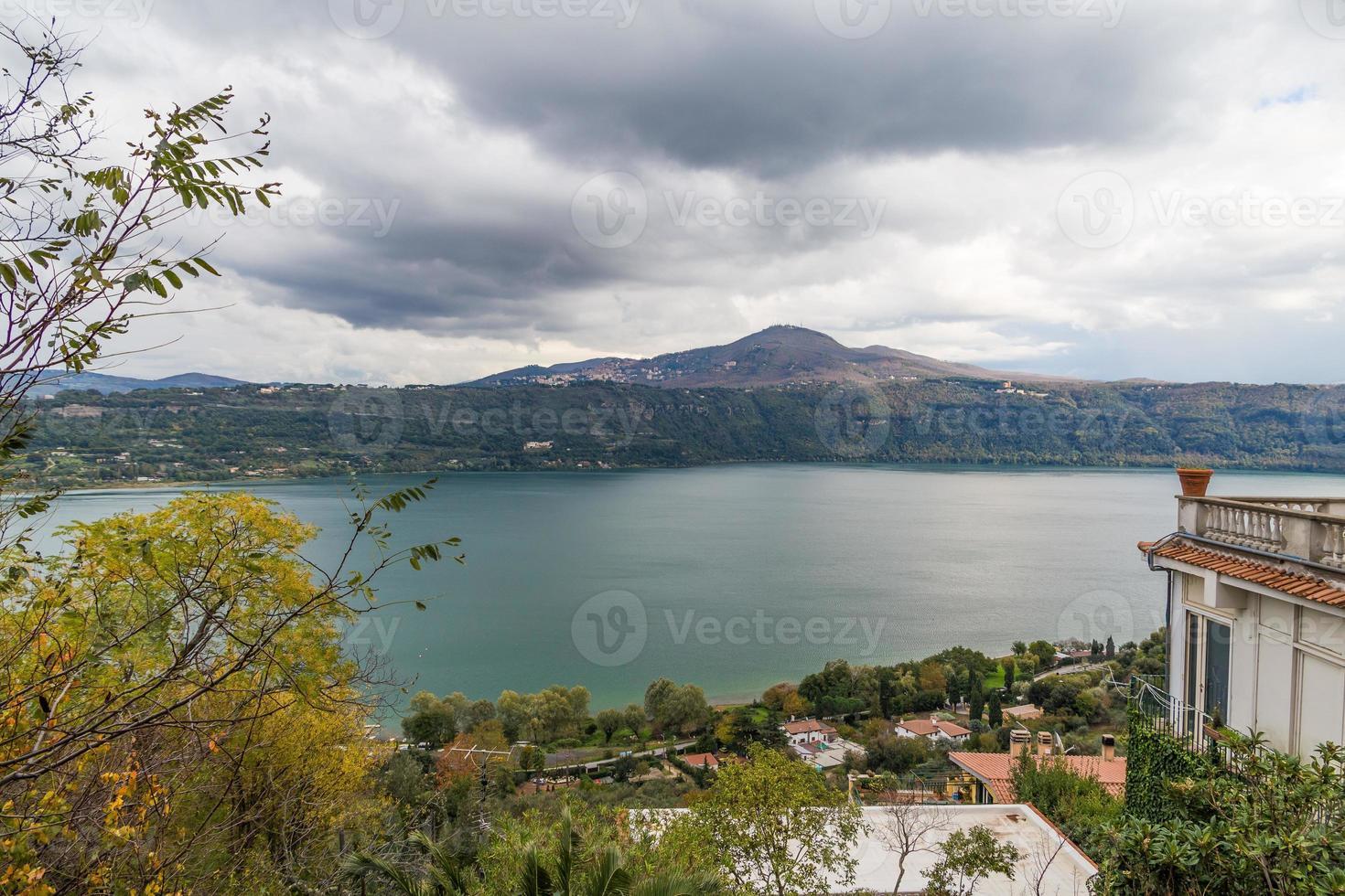 Albanosee, Castelli Romani, Italien foto