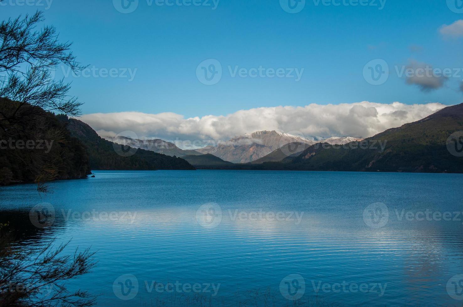 kleine Schaltung oder Circuito Chico in der Nähe von Bariloche, Argentinien foto