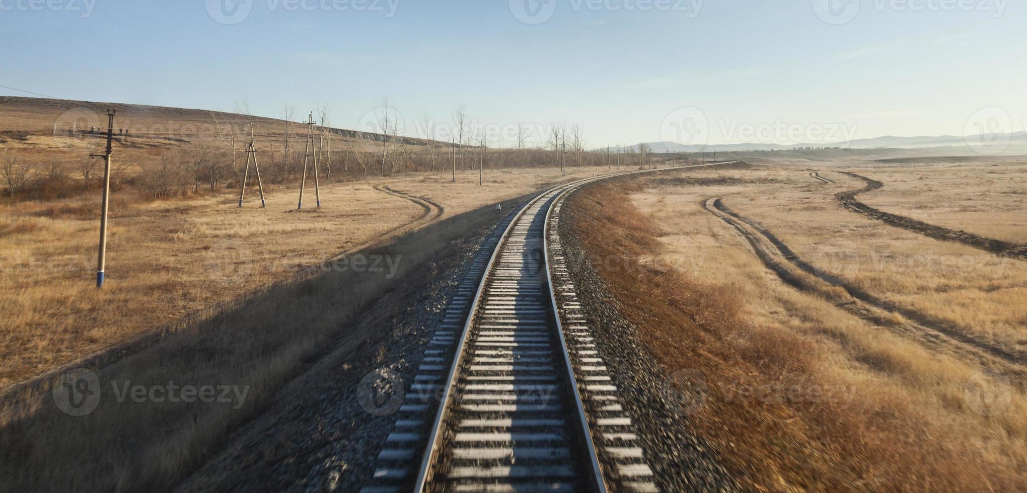 Russland nach Mongolei mit dem Zug foto