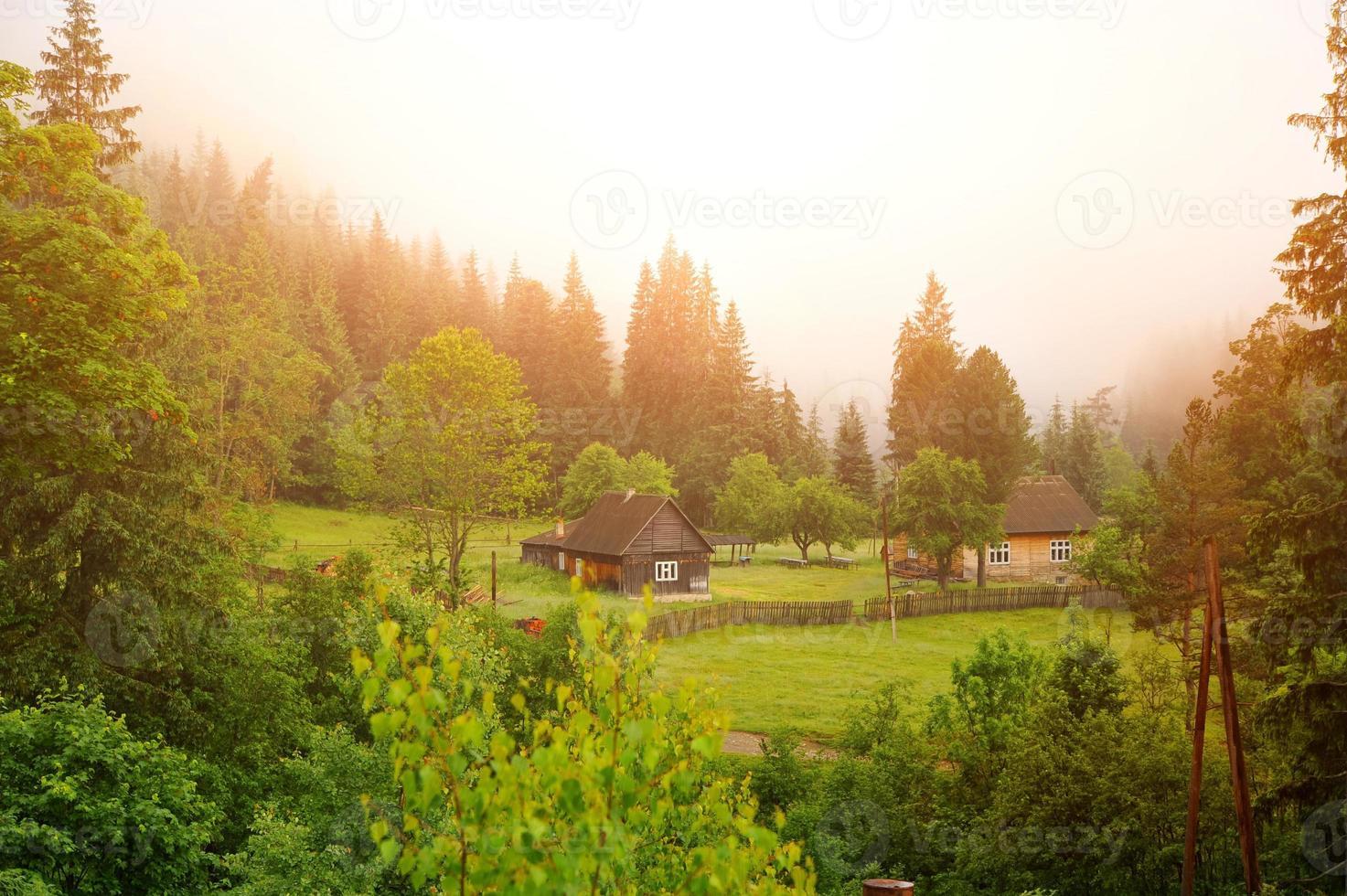 das Dorf foto