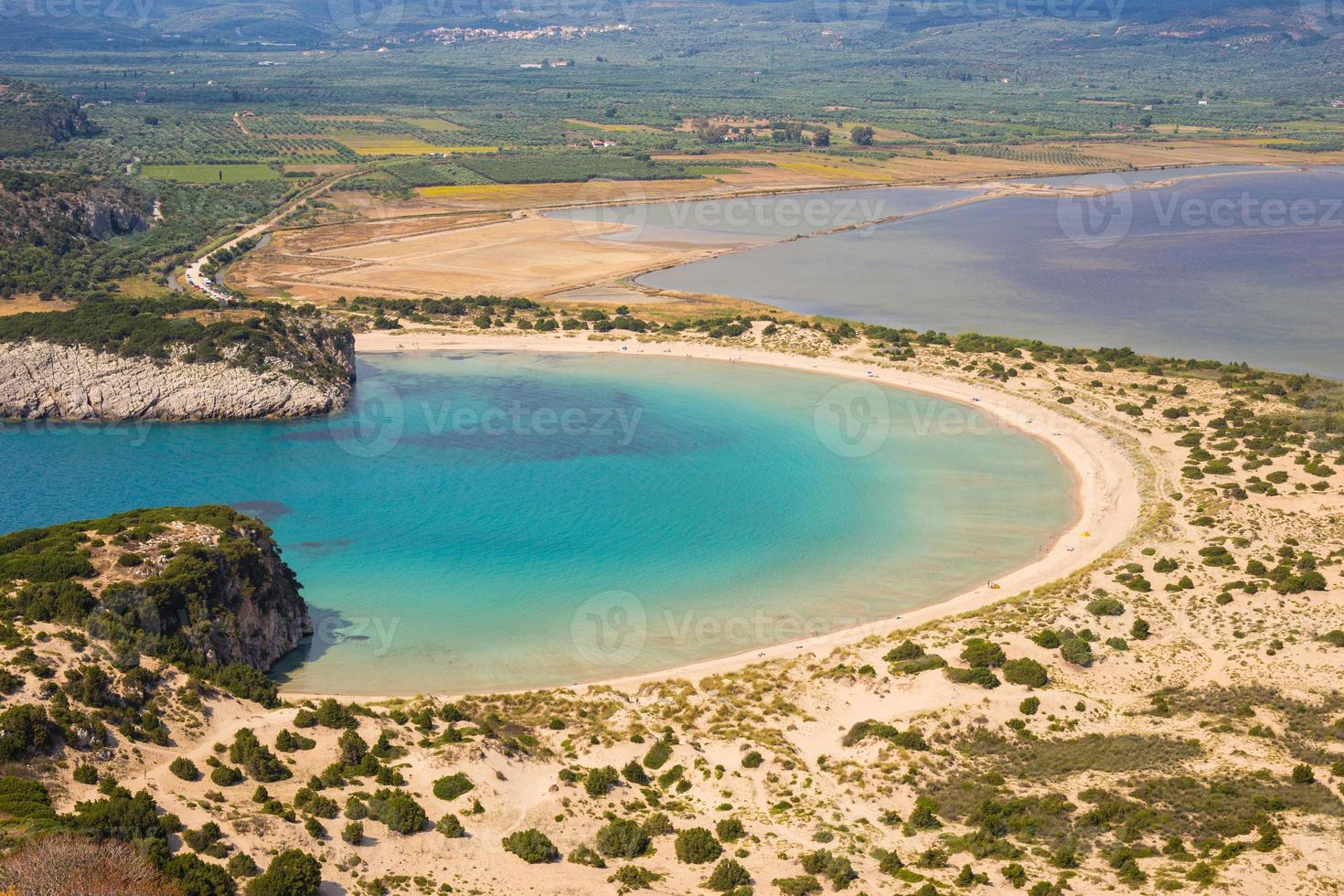 Lagune von Voidokilia foto