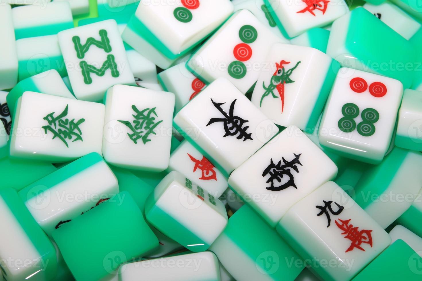 Mahjong Fliesen foto