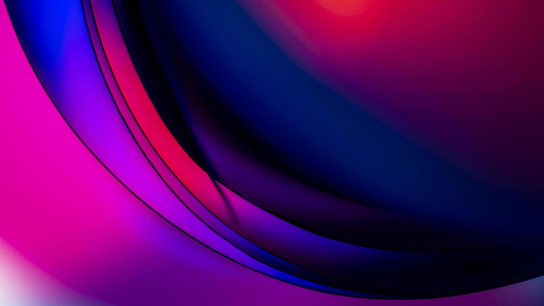 lila und blaues Licht digitale Tapete foto