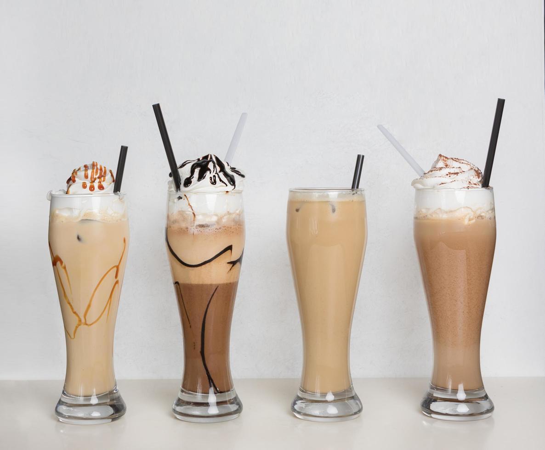 Kaffee und Schokoladencocktails foto