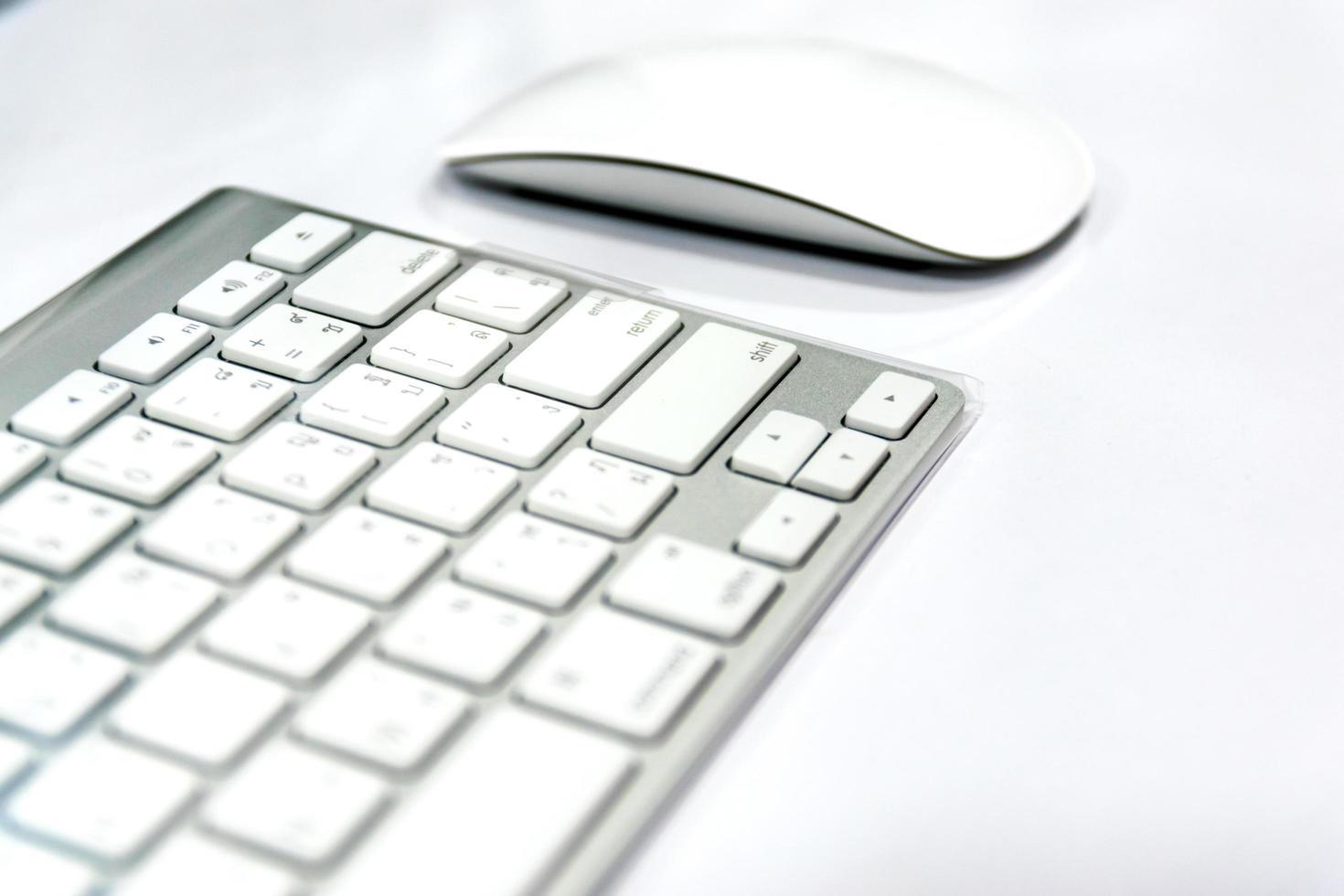 drahtlose Maus und Tastatur foto
