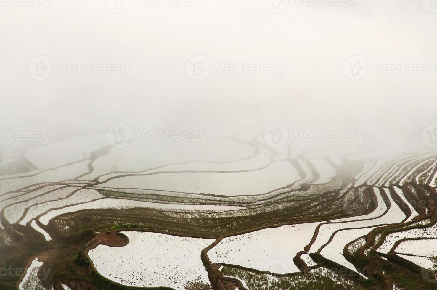 die China yuanyangtitian schöne Landschaft foto