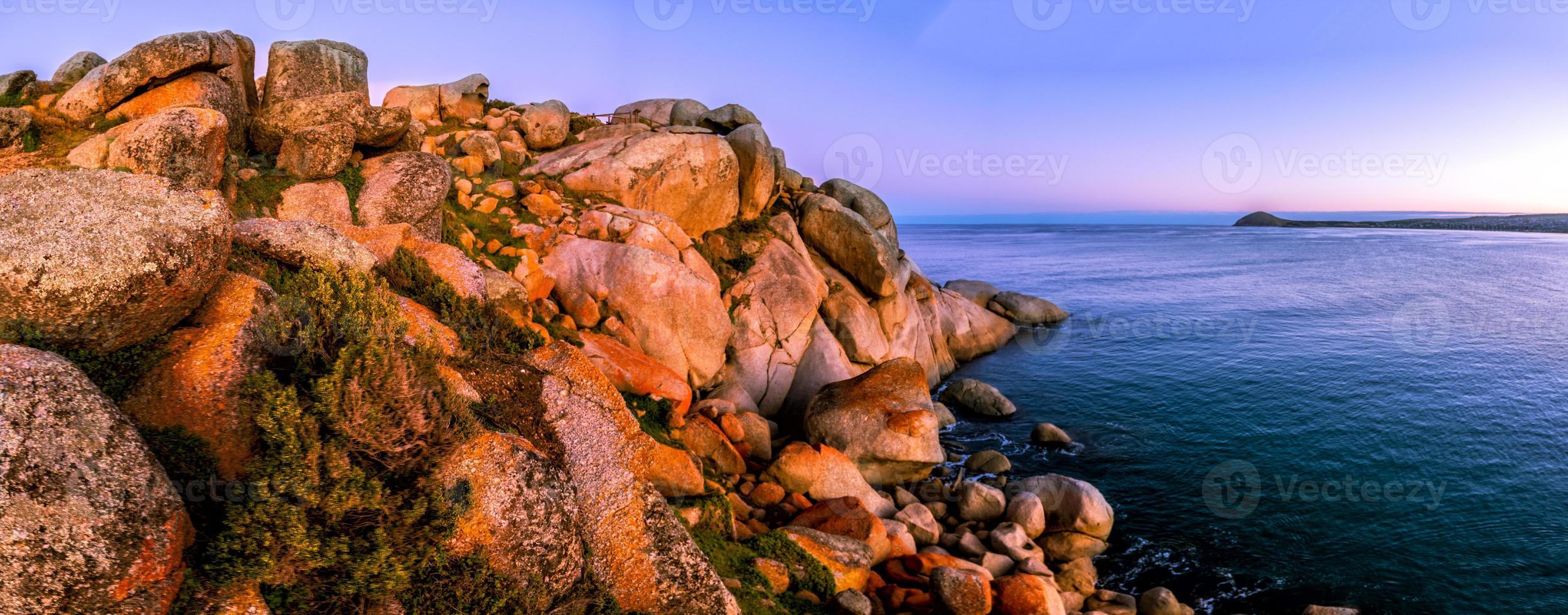 Granitinsel Victor Hafen foto