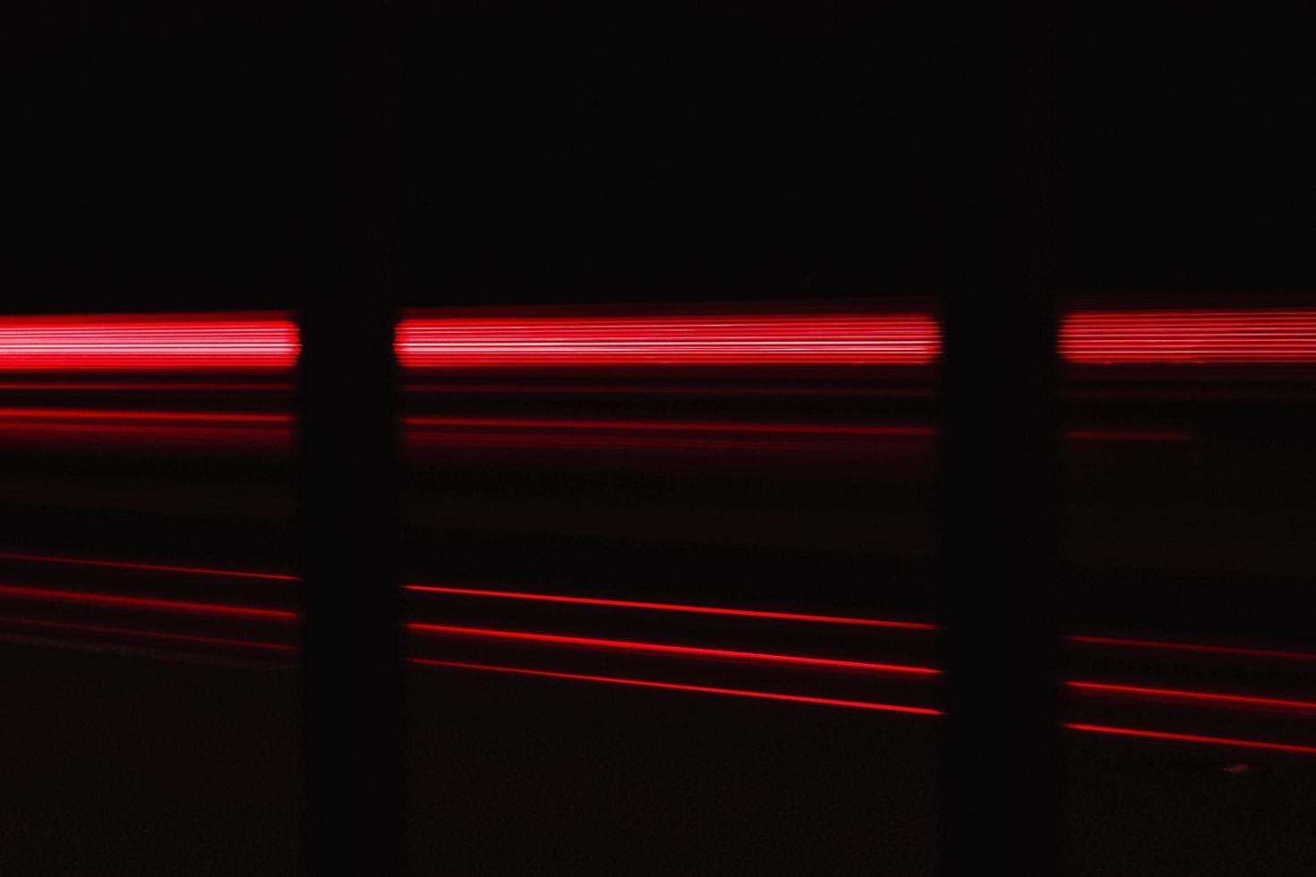 Ampeln in der Nacht foto