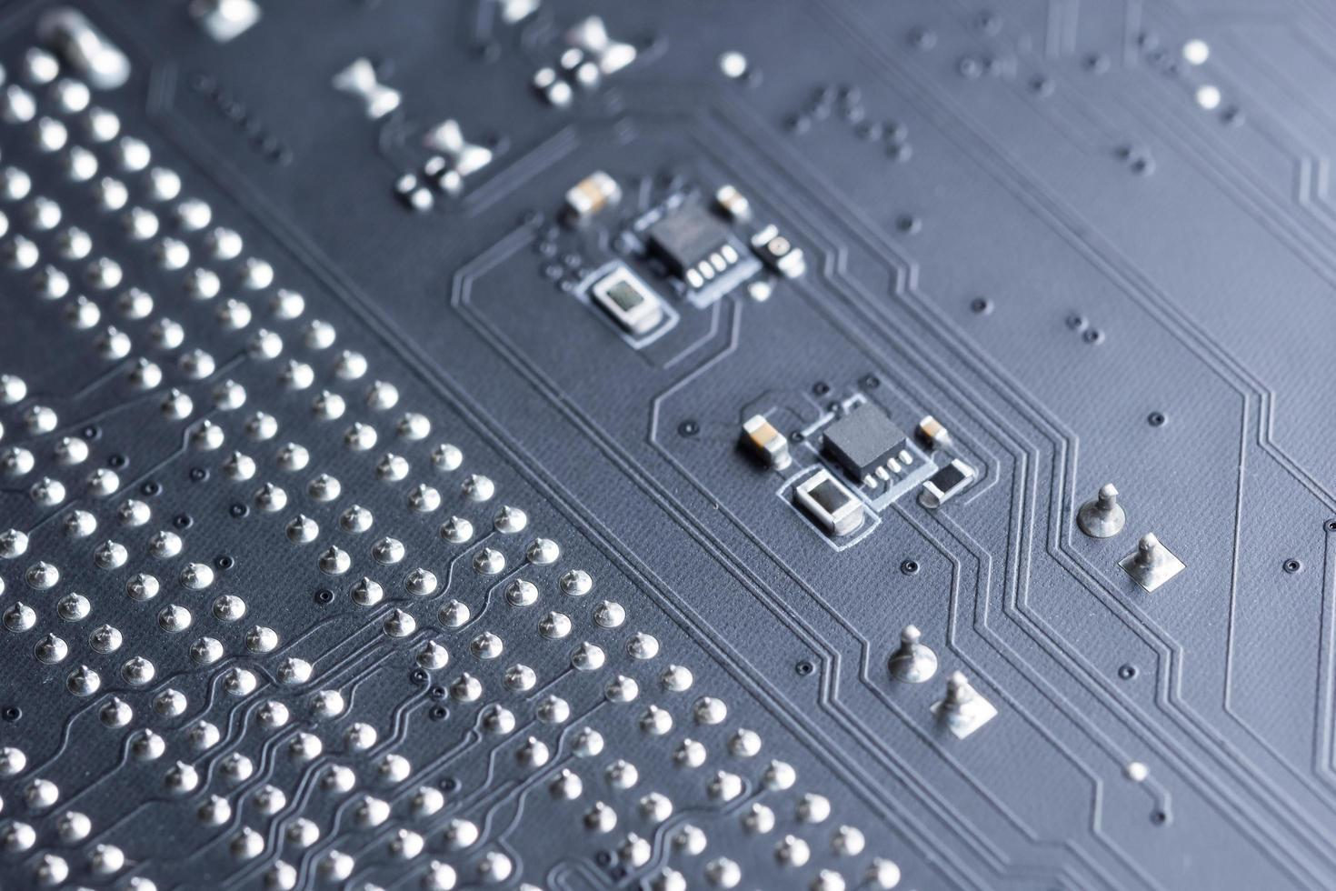 elektronische Leiterplatte, Nahaufnahme foto