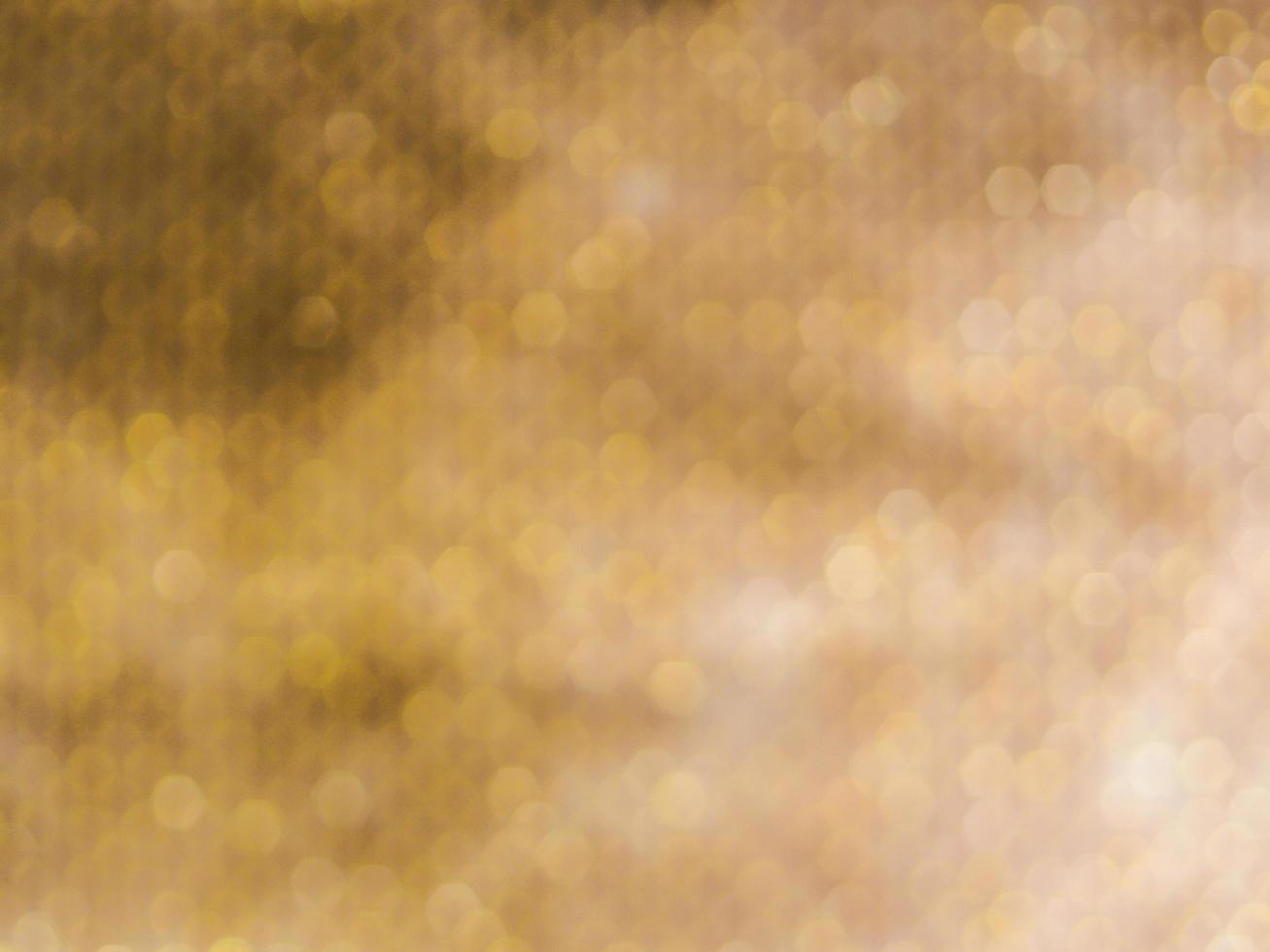 abstraktes Gold Bokeh foto