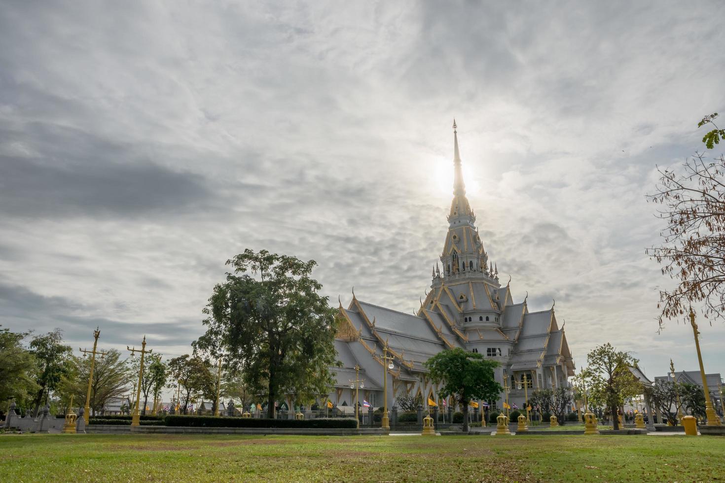 Wat Sothon Wararam Worawihan in Chachoengsao, Thailand foto