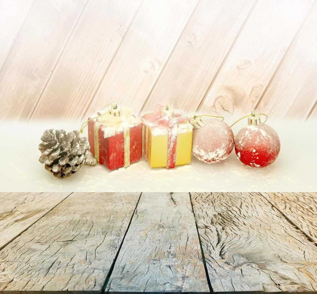 Weihnachten und Neujahr Hintergrund foto