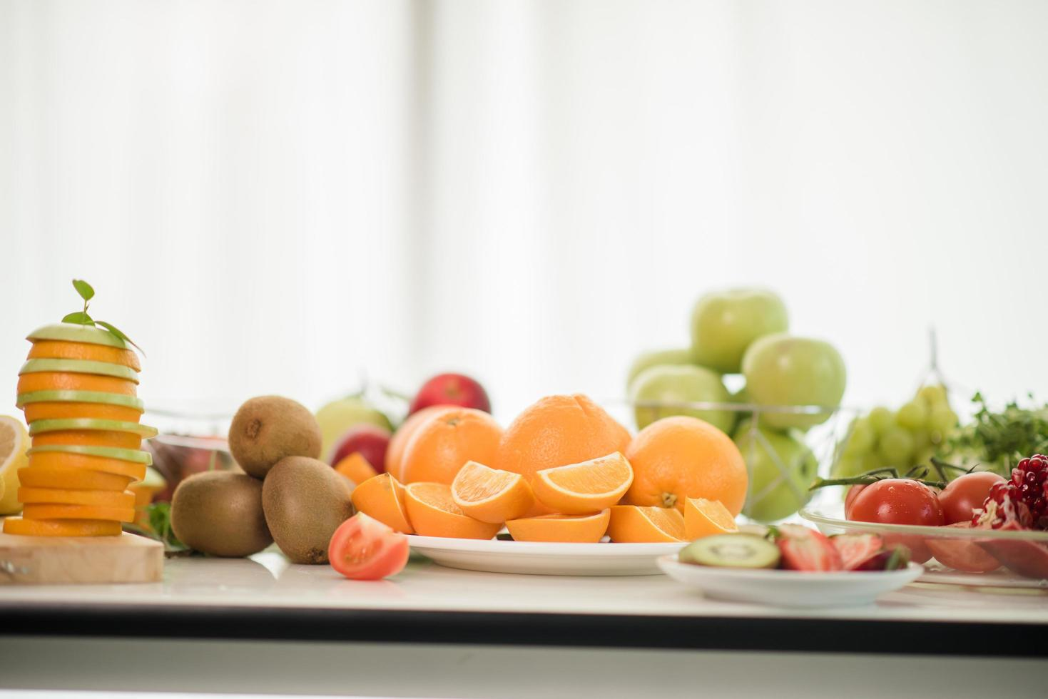 verschiedene frische Früchte foto
