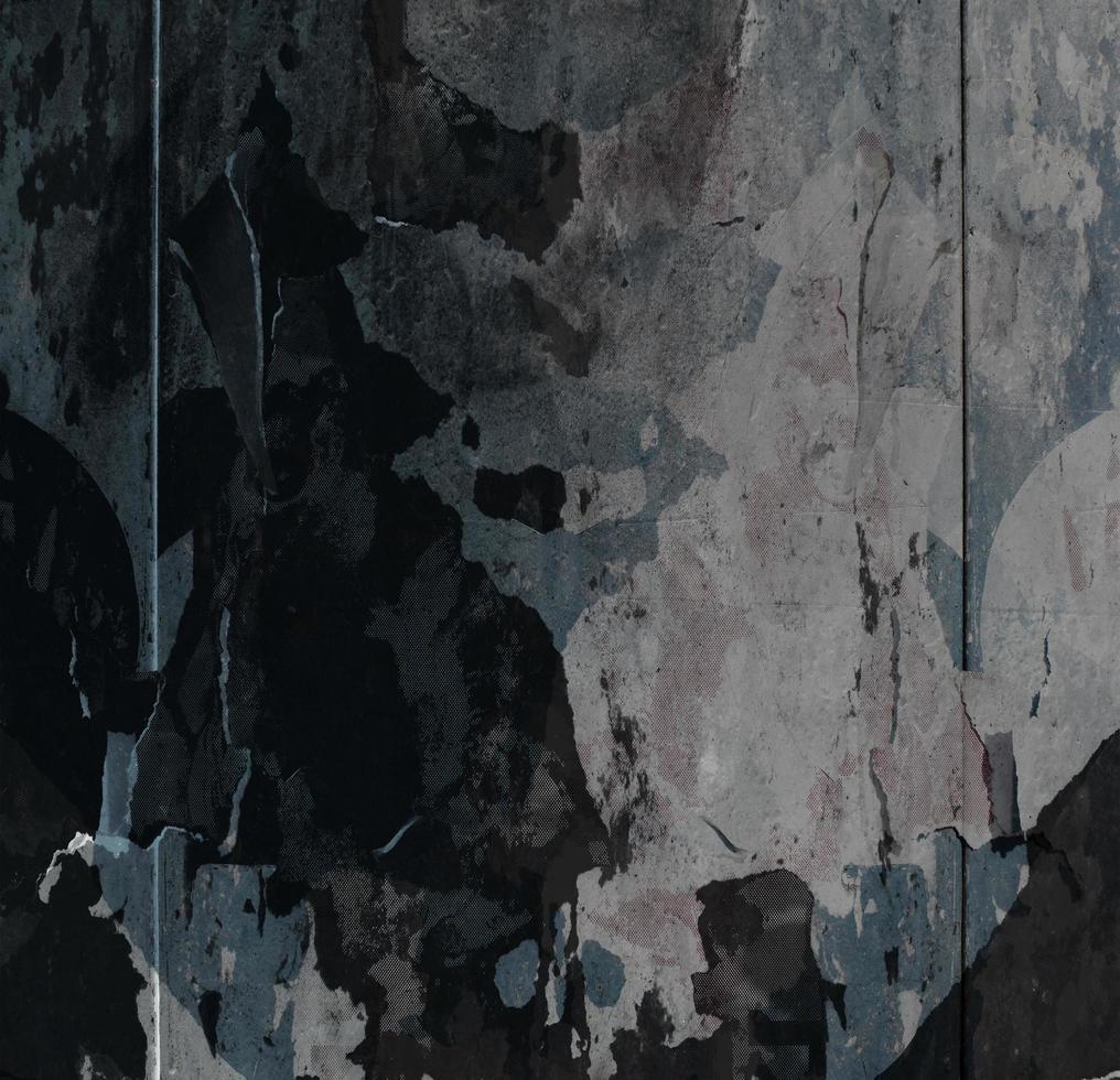 abstrakte Wandbeschaffenheit der abgebrochenen Farbe foto