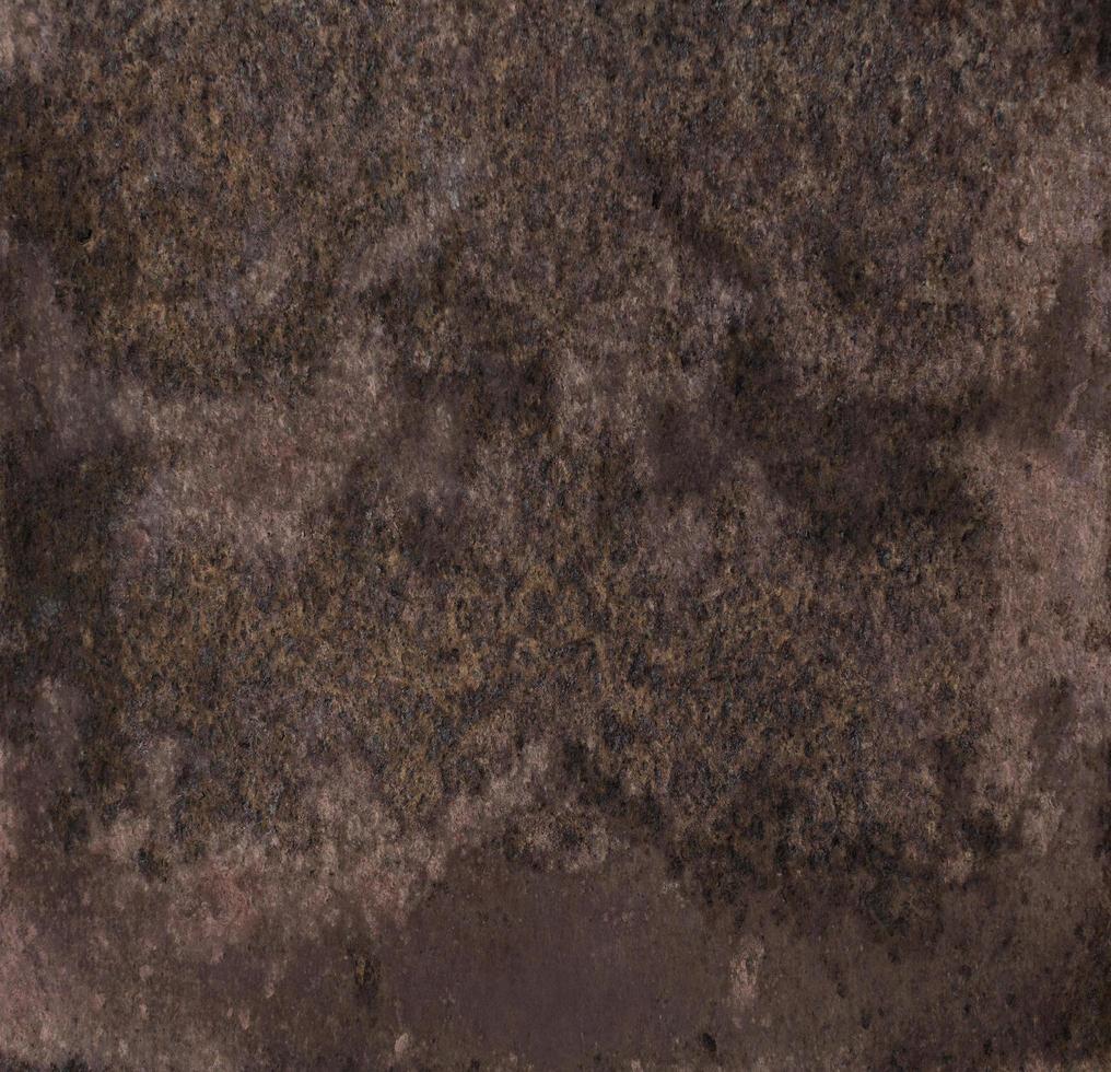 braune Oxidstahl Textur foto