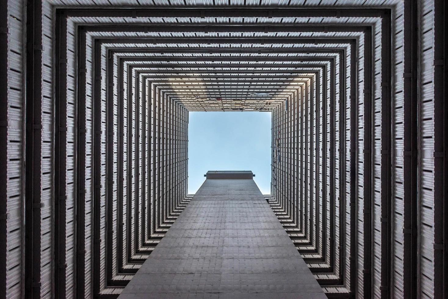 Hong Kong Wolkenkratzer abstrakt foto