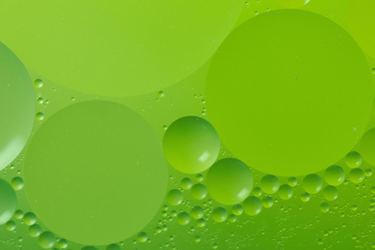 abstrakter Makrohintergrund von Öl und Wasser foto