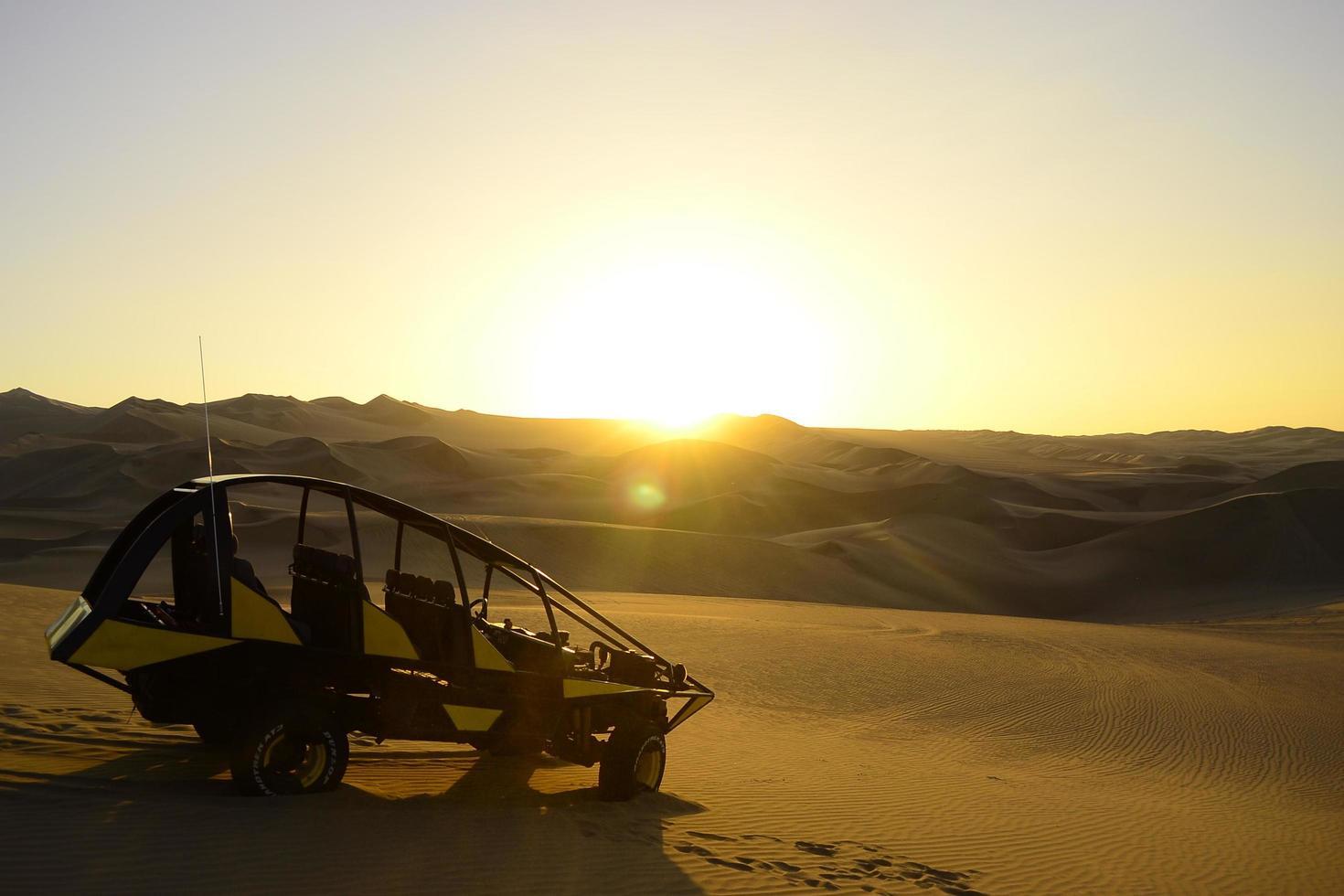 Buggy in der Wüste foto