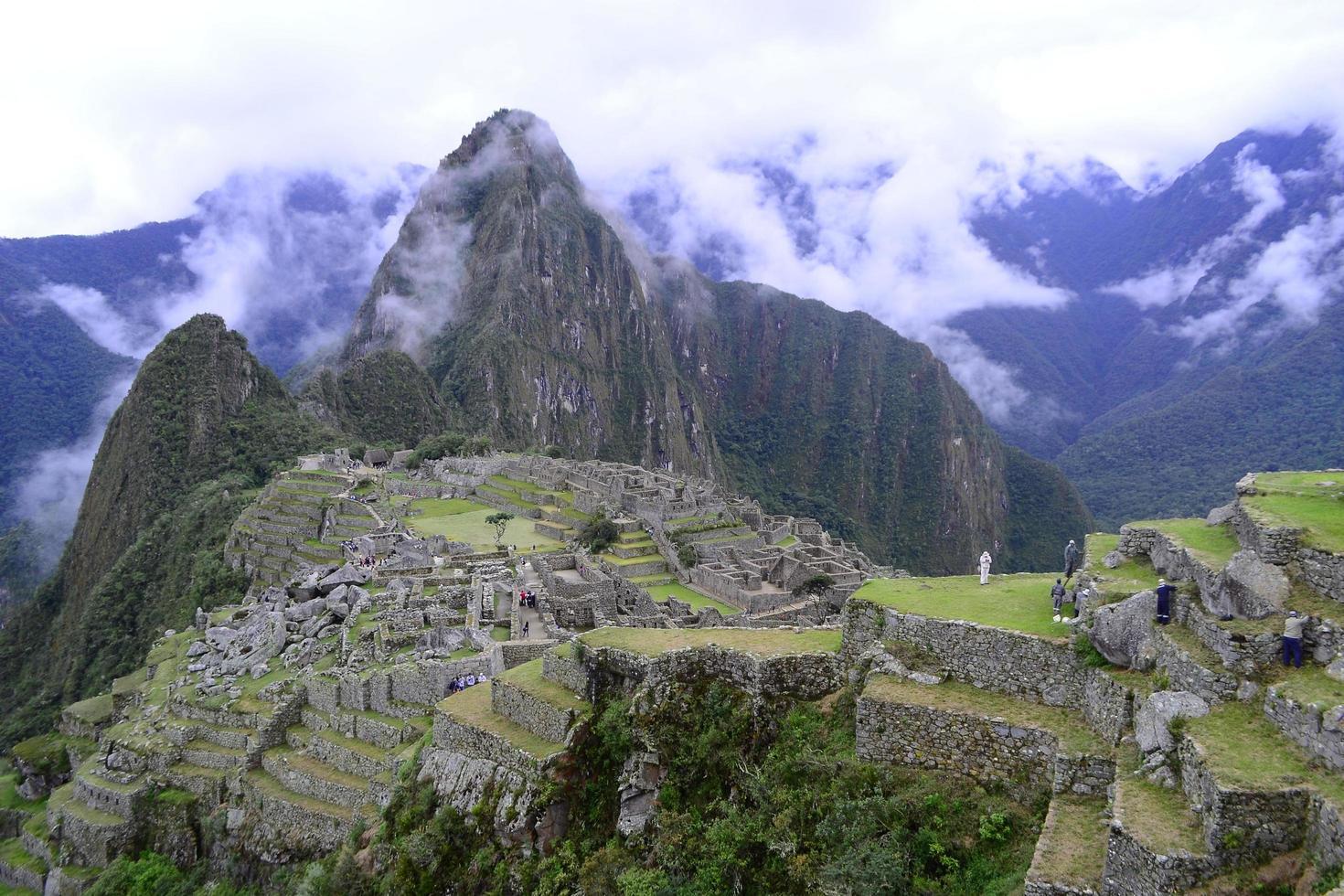 Machu Picchu Berg foto
