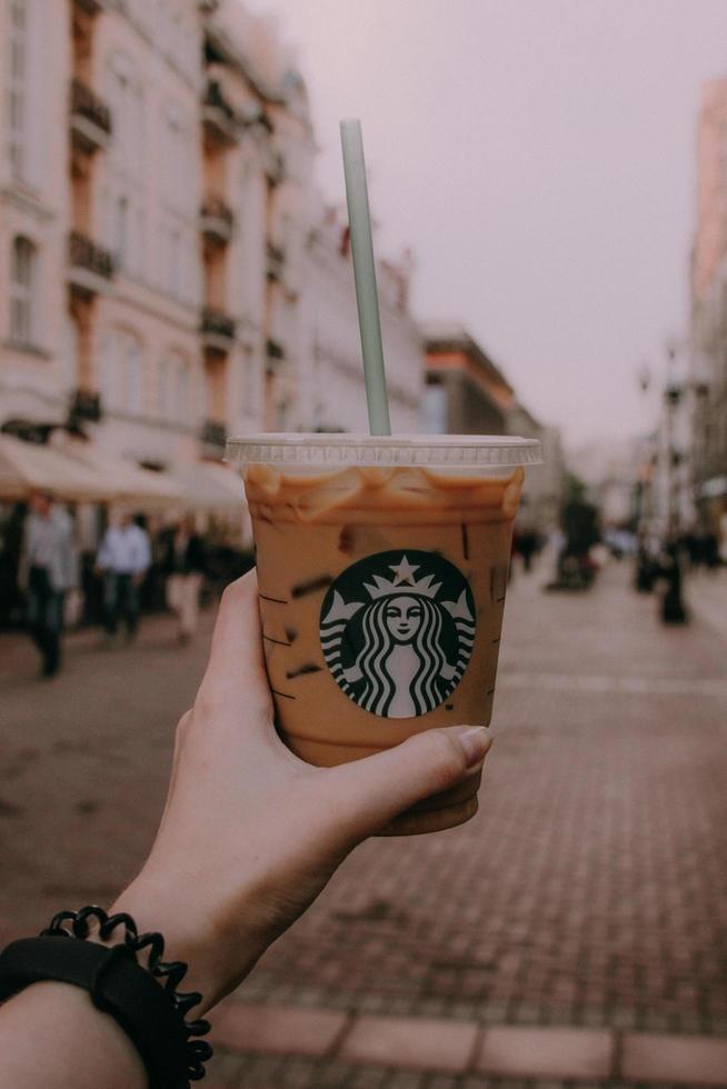 Starbucks Einwegbecher foto