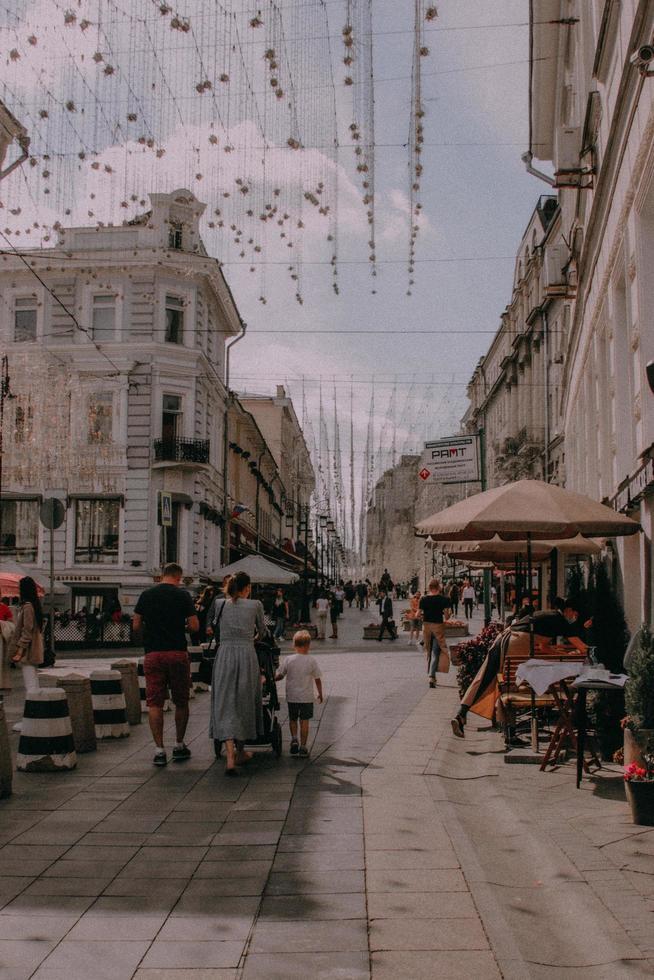 Cafés und Wanderwege in der Innenstadt foto