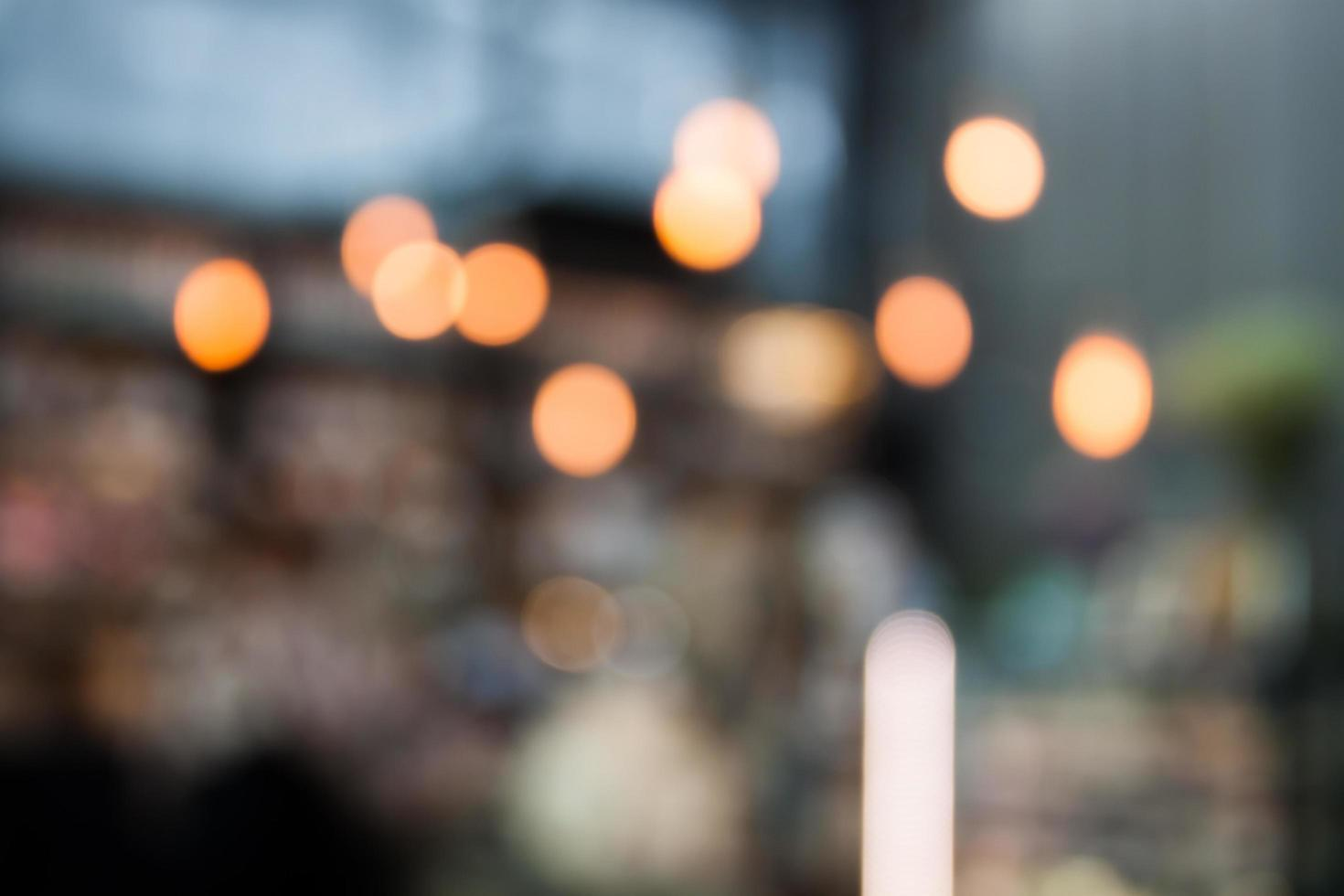 verschwommenes Café Hintergrund foto