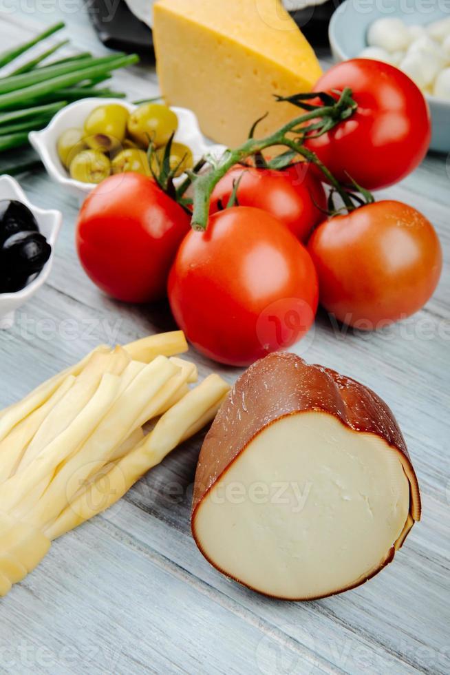 Tomaten und Käse foto