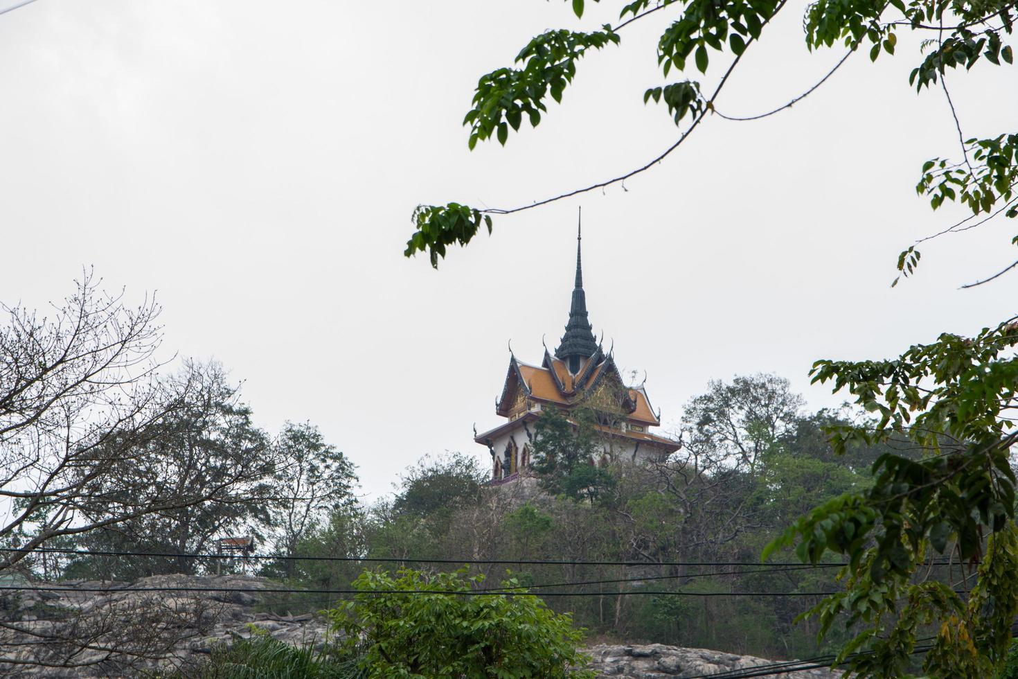 Gebäude von Wat Phra Phutthachai foto