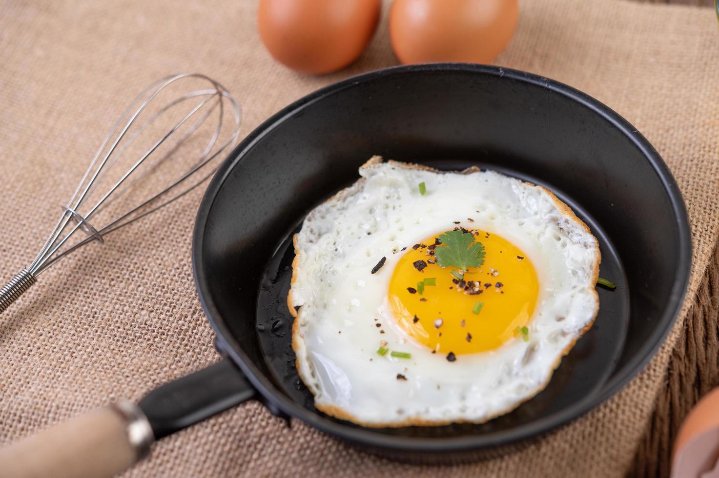 Spiegelei Frühstück foto