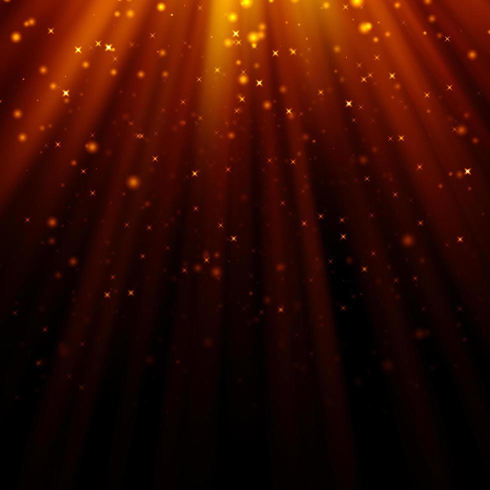 abstraktes Licht und Glitzerhintergrund foto