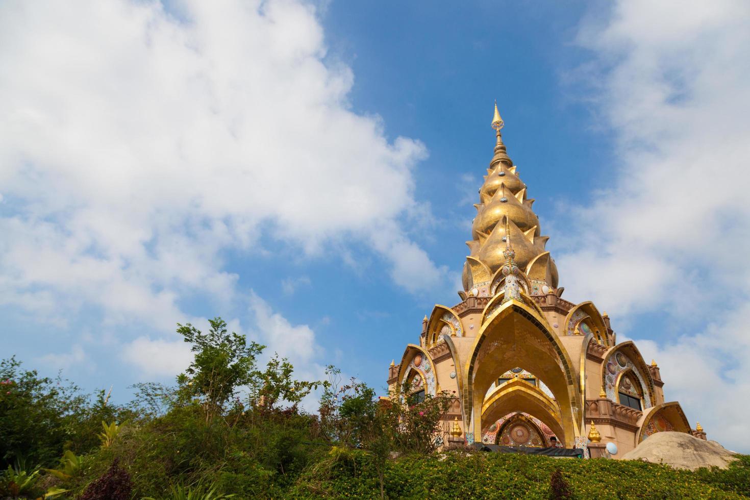 Wat Phra buddhistisches Kloster in Thailand foto