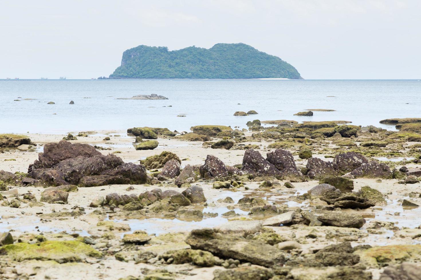 Insel und Strand in Thailand foto