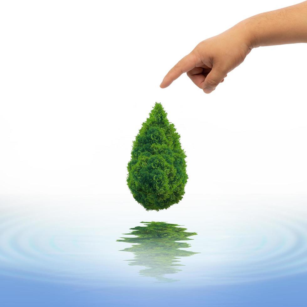 natürliches Wasserkonzept foto