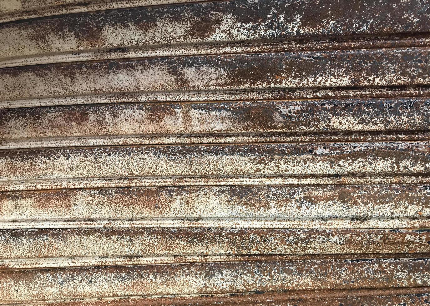rostige Eisenwalzenbeschaffenheit foto