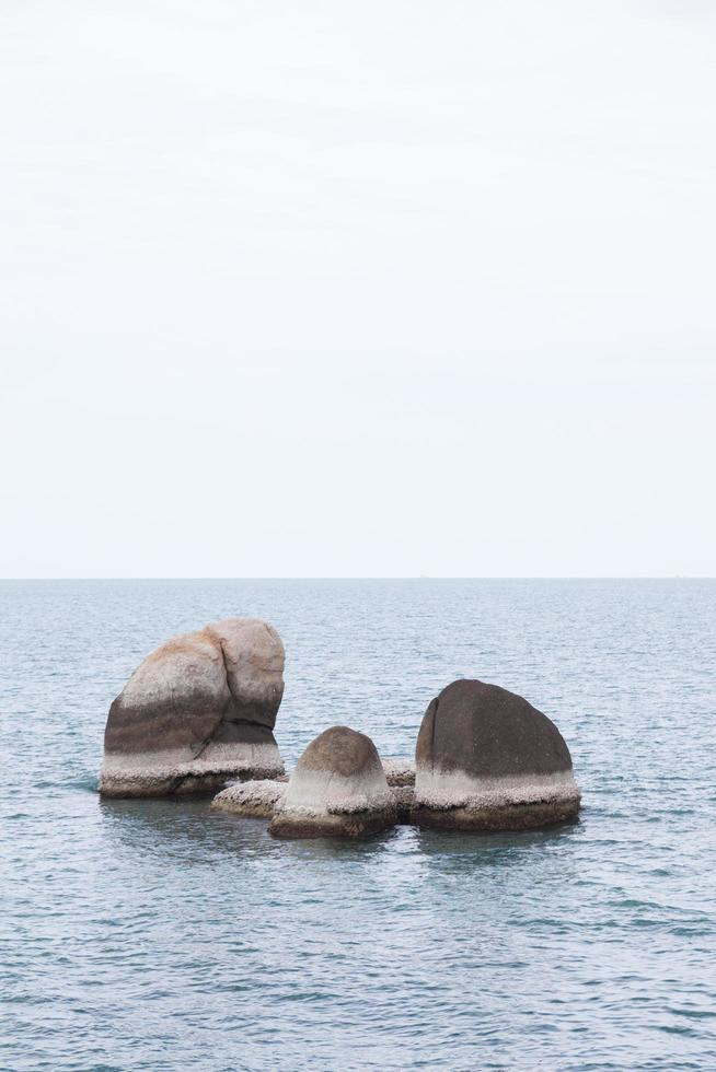 Großvater Rock in Koh Samui, Thailand foto