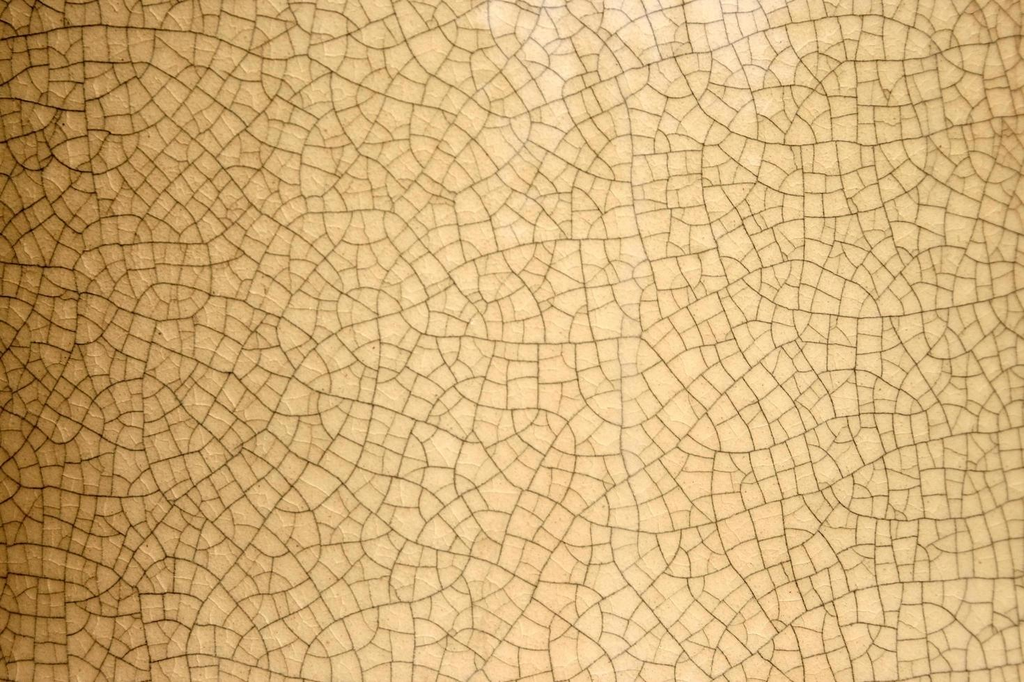 rissige braune Wand foto